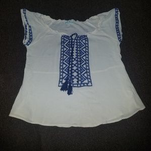 Maurice Tribal Blouse